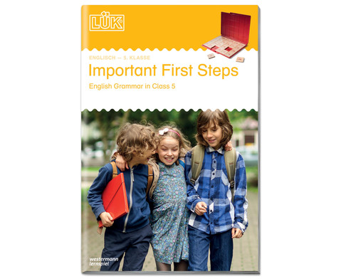 LUEK Important First Steps ab 5 Klasse