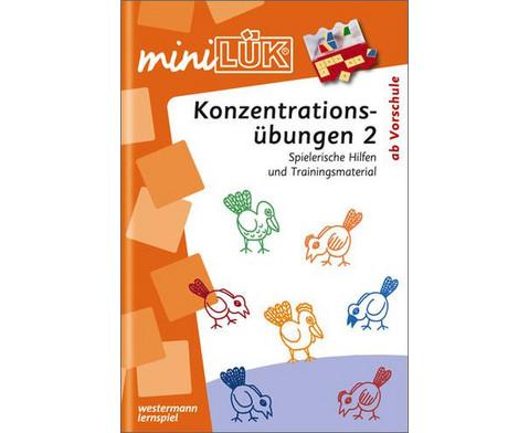 miniLUEK-Heft Konzentrationsuebungen 2-1