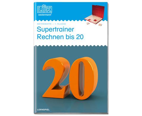 LUEK Supertrainer Rechnen bis 20 1 Klasse