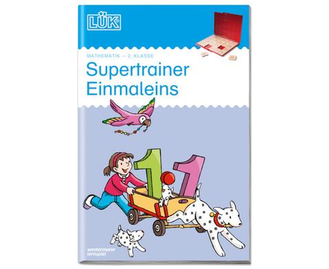 LUEK-Heft Supertrainer Einmaleins-1
