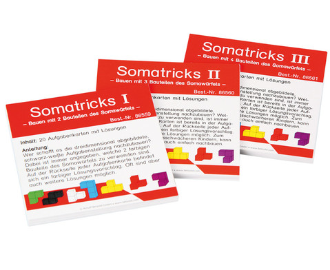 Somatricks-Kartensaetze-Set Somatricks 1 - 3