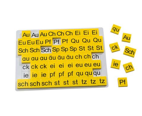 Buchstaben-Ergaenzungssatz zur Lese-Magnetbox