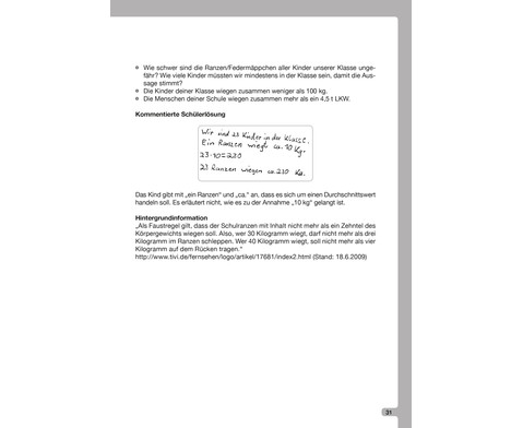 Fragenbox Mathematik 3-4-5