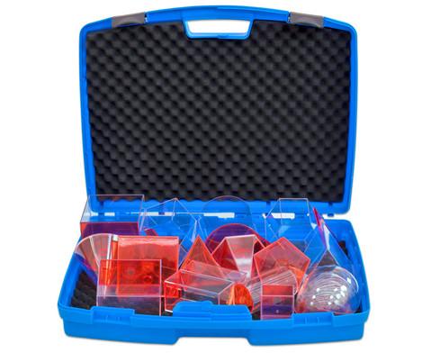 Fuellkoerper-Set 17 Teile im stabilen Kunststoffkoffer