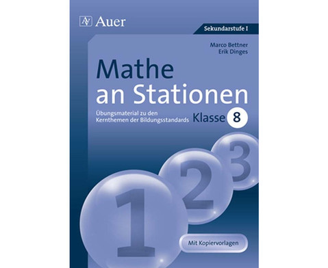 Mathe an Stationen Klasse 8-1