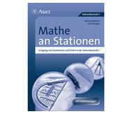 Mathe an Stationen, Umgang mit Geodreieck, Zirkel