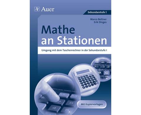 Mathe an Stationen Umgang mit dem Taschenrechner