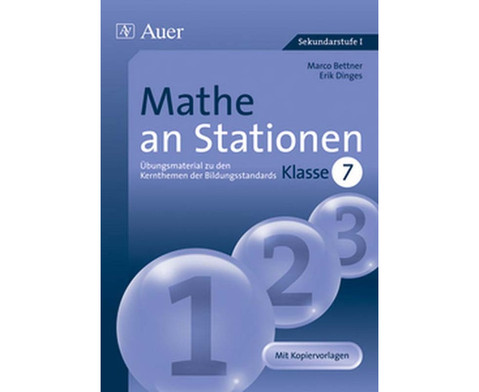 Mathe an Stationen Klasse 7-1