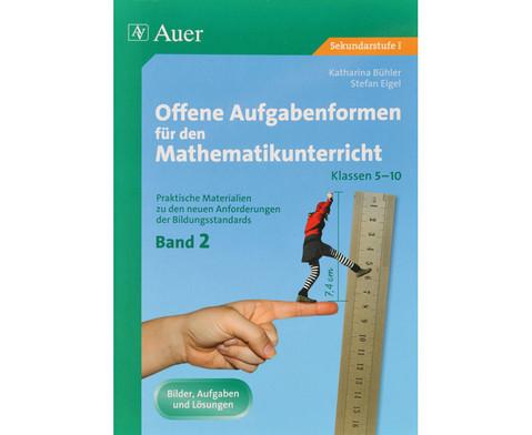 Offene Aufgabenformen fuer den Mathematikunterricht 2-1