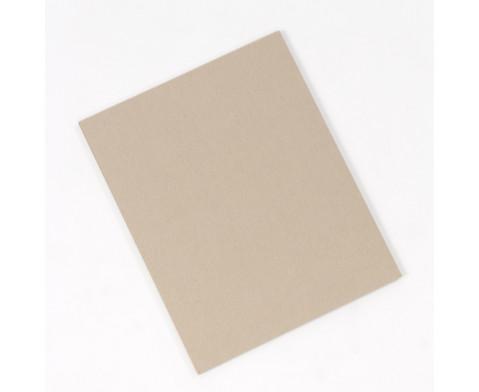 Graupappe 25 mm stark 5 Bogen 40 x 50 cm-3