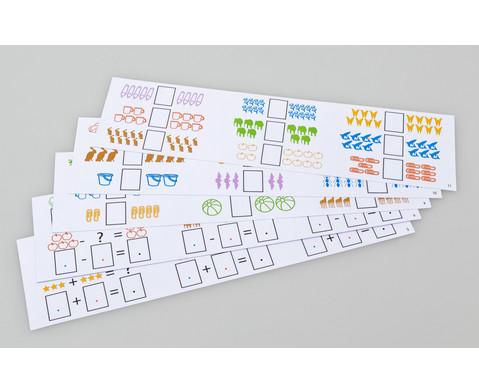 Aufgabenkarten fuer Rechenmagnetbox Set 1-2