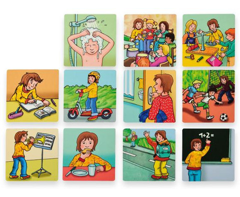 Betzold Mein Tag magnetische Bildkarten