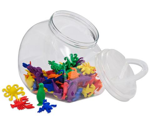 Wasserwelt-Rechentiere im Kunststoffbehaelter-1