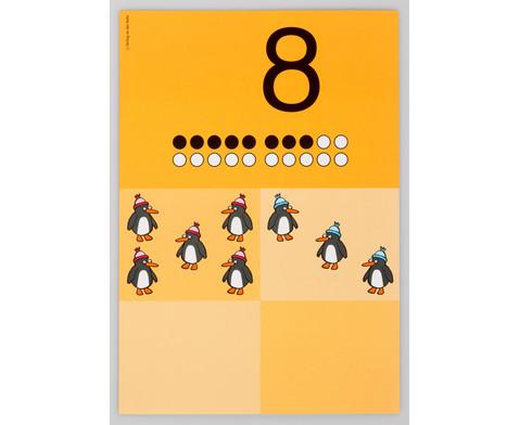 Die grossen Zahlen-Bildkarten von 0 - 20-2