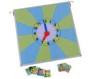 Uhr zum Tagesablauf