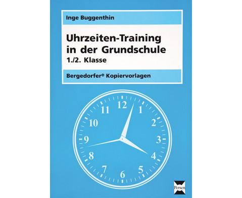 Uhrzeiten-Training in der Grundschule 1-2