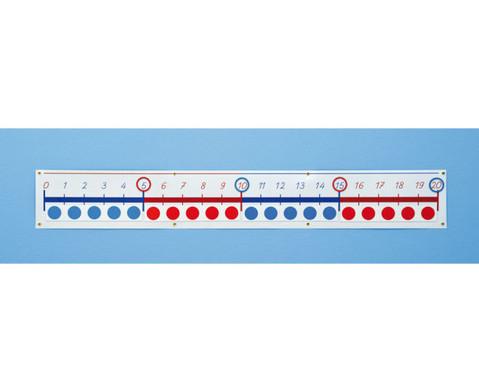 Magnet-Zahlenstrahl 0 - 20-5
