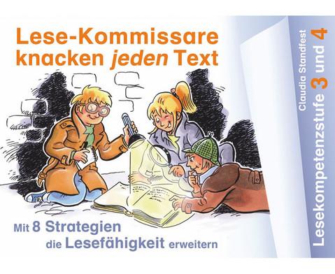 Lese-Kommissare Kompetenzstufe 3 4-1