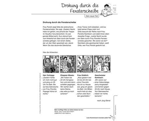 Lese-Kommissare Kompetenzstufe 3 4-2