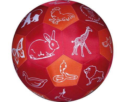 Lernspielball Tiere