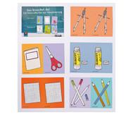 Das brauchst du! Materialkarten zur Visualisierung