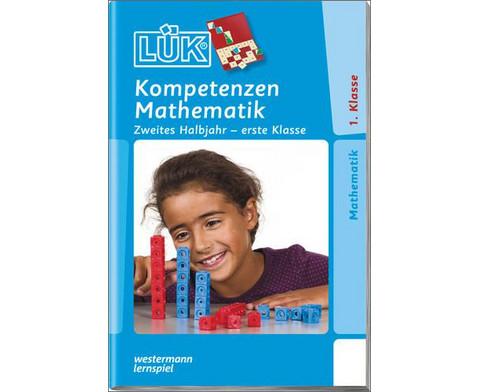 LUEK-Heft Kompetent in Mathe 1 Klasse 2 Halbjahr-1