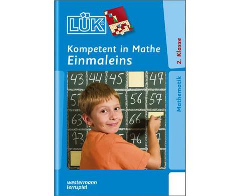LUEK-Heft Kompetent in Mathe 2 Kl 1x1-1