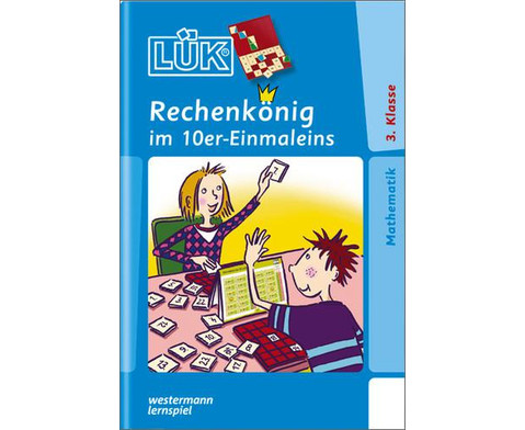 LUEK-Heft Rechenkoenig 10er Einmaleins-1