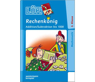 LÜK-Heft Rechenkönig Addition / Subtraktion bis 1000
