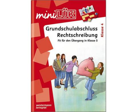 miniLUEK-Heft Grundschulabschluss Rechtschreiben-1