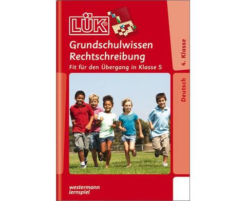 LUEK-Heft Grundschulwissen Rechtschreibung 4-5 Klasse-1