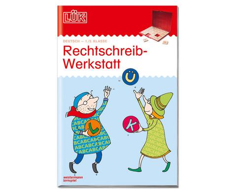 LUEK Rechtschreibwerkstatt 1-2 Klasse
