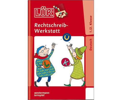 LUEK Rechtschreibwerkstatt fuer 1- 2 Klasse-1