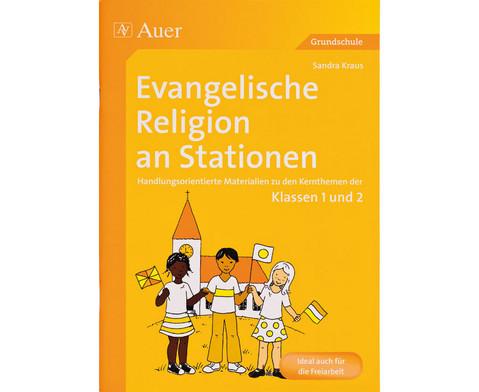 Auer Verlag Evangelische Religion an Stationen,...