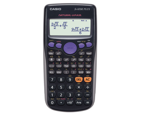 Casio FX-82DE Plus-1