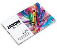Jaxon Aquarell Wachspastelle, 24 Farben