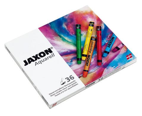 Jaxon Aquarell Wachspastelle 36 Farben-1