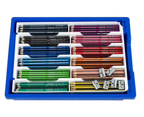 Farbstifte - grosse Schulbox