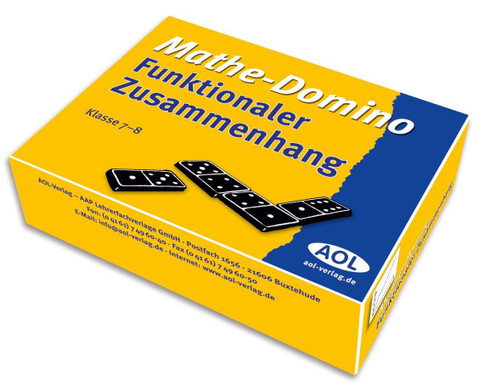 Mathe-Domino Funktionaler Zusammenhang-1