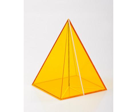 Geometriekoerper aus Plexiglas 10-teiliger Satz-6