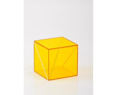 Geometriekoerper aus Plexiglas 10-teiliger Satz-9