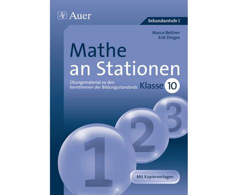 Mathe an Stationen 10-1