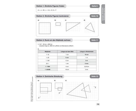 Mathe an Stationen 10-6