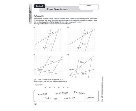 Mathe an Stationen 10-8