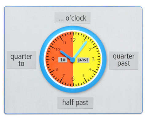 Teaching Clock Whats the time
