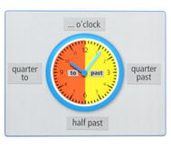 Teaching Clock: What's the time?