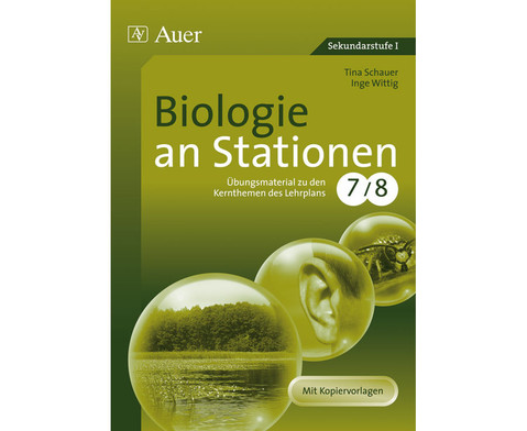 Biologie an Stationen 7-8