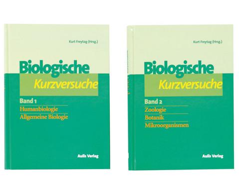 Biologie allgemein - Biologische Kurzversuche in 2 Baenden