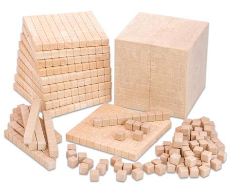 RE-WOOD Zehnersystemsatz 121 Teile  in Stapelbox-2