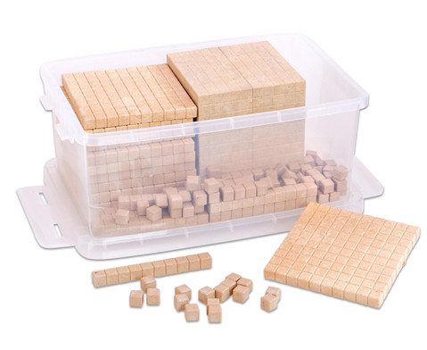 RE-WOOD Zehnersystemsatz 121 Teile  in Stapelbox-3
